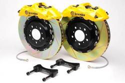Brembo GT Yellow Front Slotted Brake Kit 355x32mm - 07-08 Infiniti G35 / 08-13 G37, 09-16 Nissan 370Z