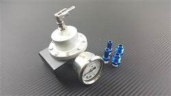 P2M V2.5 Large Fuel Pressure Regulator W/Gauge
