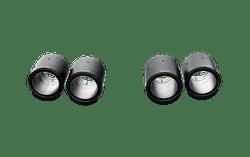 Akrapovic Tail pipe set (Carbon) - 11-15 BMW M5 (F10)