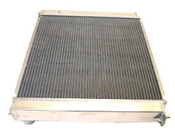 Koyo Aluminum 48mm Racing Radiator - 90-96 Nissan 300ZX Turbo