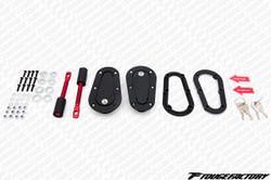 Aerocatch Plus Flush Locking Hood Latch Pins - Black
