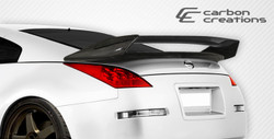 Carbon Creations 1 Piece N-2 Wing Trunk Lid Spoiler - 03-08 Nissan 350Z