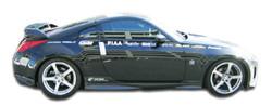 Carbon Creations 2-Piece N-1 Side Skirts Rocker Panels - 03-08 Nissan 350Z