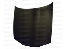 Seibon OE-Style Carbon Fiber Hood - 90-94 Nissan R32