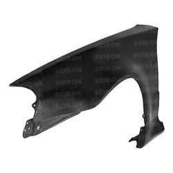 Seibon NSM-Style Carbon Fiber Fenders (pair) - 99-01 Nissan R34