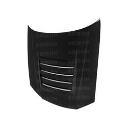 Seibon DS-Style Carbon Fiber Hood - 99-01 Nissan R34 GTS