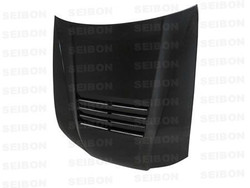 Seibon DS-Style Carbon Fiber Hood - 99-01 Nissan Silvia S15