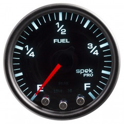 AutoMeter Spek-Pro Smoked - Fuel Level 52mm
