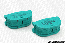 Project Mu D1 Spec Rear Brake Pads Toyota 1984-87 GTS Corolla AE86 PDR186