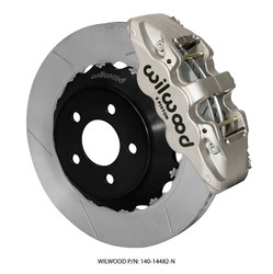 Wilwood 6 Piston Aerolite 6R Front Road Race Brake Kit for S550 Mustang