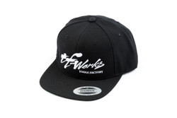 "TF-Works ""Splash"" Snapback Hat - Black"