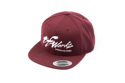 "TF-Works ""Splash"" Snapback Hat - Maroon"