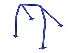 Cusco  4 points + harness Bar Chromoly Roll Cage - 00-03 Honda S2000