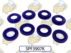 SuperPro Rear Crossmember Mount Inserts - 12-15 Scion FRS / Subaru BRZ, 2015 Subaru WRX/STI