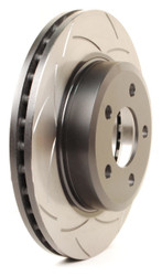DBA T2 T-Slot Uni-Directional Slotted Rotor - 2015+ S550 Mustang GT - Rear