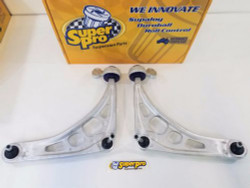 SuperPro Supaloy Front Alloy Lower Control Arm Kit- 98-06 BMW E46