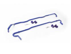 SuperPro Sway Bar Kit - Front (24mm) & Rear (22mm) Adjustable - 07-14 Subaru WRX