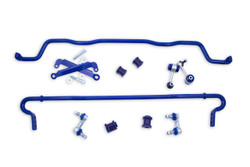 SuperPro Front and Rear Roll Control Sway Bar Stabilizer Kit - 07-14 Subaru WRX STI
