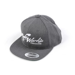 "TF-Works ""Splash"" Snapback Hat - Dark Heather Grey"