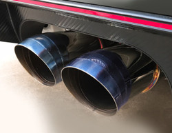 J's Racing FX-PRO Full Titanium Exhaust 70RS - Honda Civic Type R FK8 17+