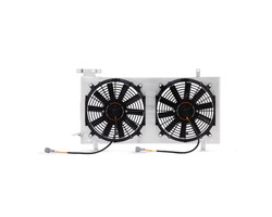MISHIMOTO PLUG-N-PLAY PERFORMANCE ALUMINUM FAN SHROUD KIT - 2015+ WRX / 2015+ STI