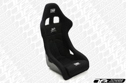 OMP ARS Fiberglass Racing Bucket Seat - Black