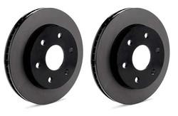Centric Premium Brake Rotors Nissan 350Z Z33 Brembo REAR