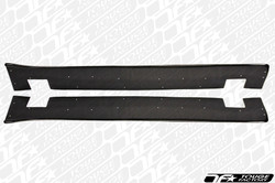 TF Evo X Carbon Fiber Side Skirt Extension