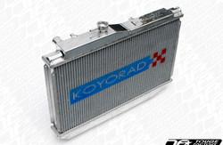 Koyo Aluminum V-Core Radiator - 08-09 Mitsubishi Evolution X (AT/MT) / Ralliart Turbo