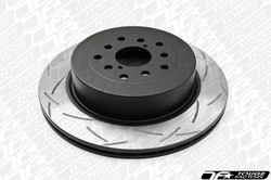 DBA 4000 T3 T-Slot Brake Rotor - Nissan Skyline R32 R33 R34 GTR 93+ (Rear)