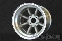 RS Watanabe R-Type Aluminum Racing Wheels 15x12 -51