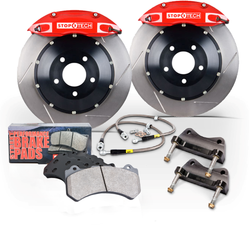 StopTech Rear ST-22 345x28 Rotor Big Brake Kit for FRS/BRZ