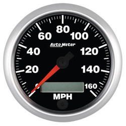 """Auto Meter Elite Speedometer Programmable Gauge 85.7mm (3 3/8"""")"""