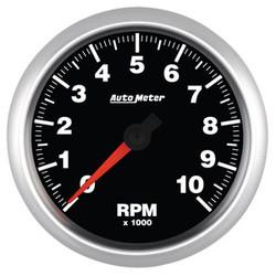 "Auto Meter Elite Tachometer Gauge 95.3mm (3 3/4"") 0-10,000 RPM"