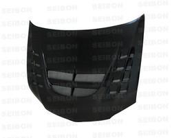Seibon CWII-style carbon fiber hood for 2003-2007 Mitsubishi Lancer EVO