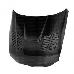 Seibon GTR-style carbon fiber hood for 2008-2010 BMW E92 M3