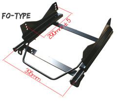 Bride FO-Type LH (Driver) Seat Rail - Scion FR-S & Subaru BRZ