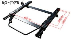 Bride RO-Type LH (Driver) Seat Rail - Scion FR-S & Subaru BRZ