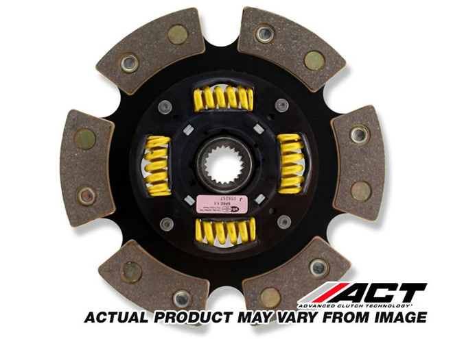 ACT Race 6-Pad Sprung Race Clutch Disc - 84-92 Toyota Corolla AE86