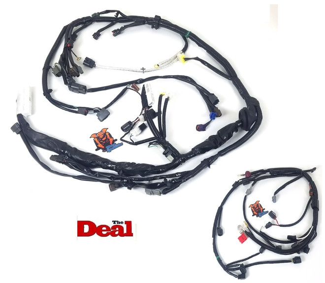 wiring specialties s14 240sx ka24de wiring harness combo oem rh tf works com Nissan SR Engine S14 SR20DET