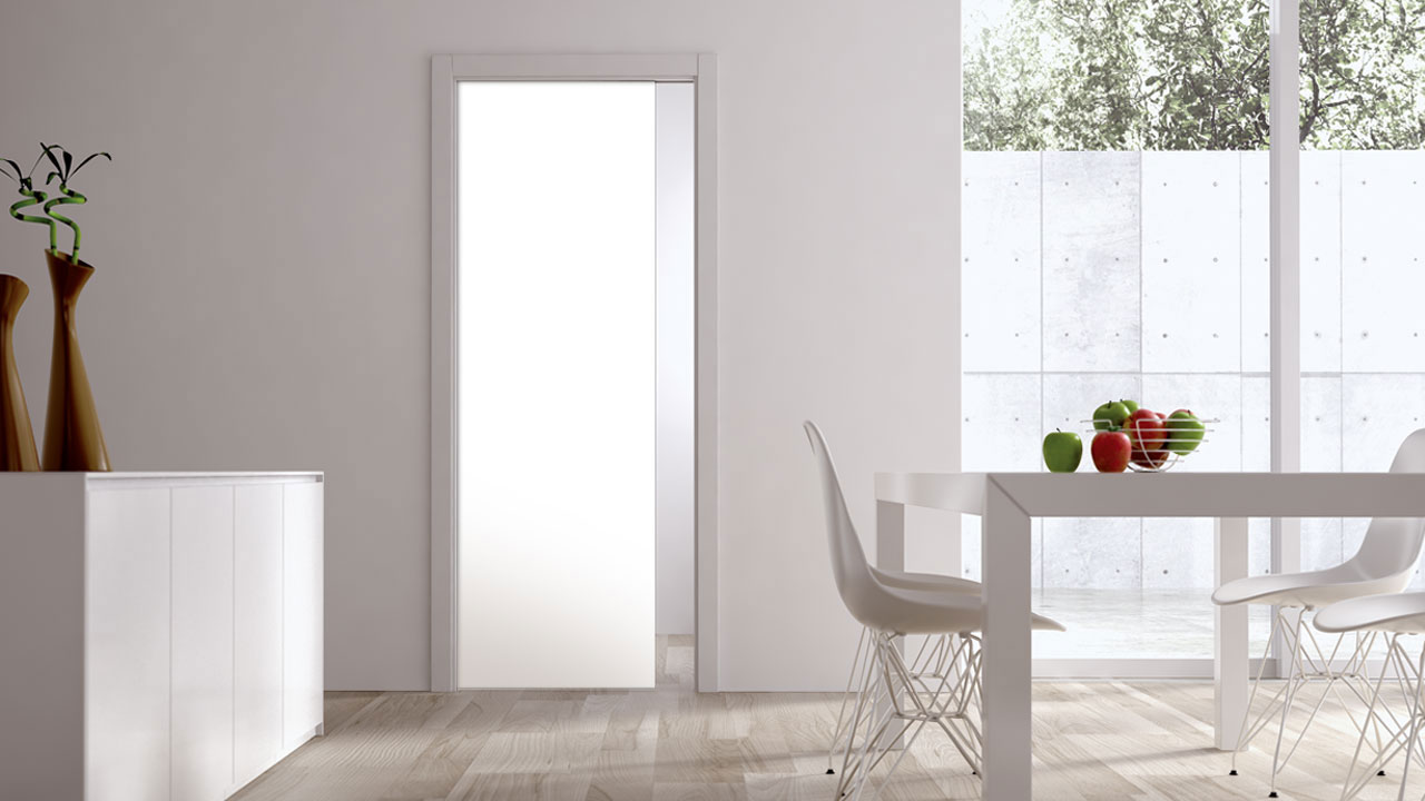 pocket decor doors for glass frosted wooden sliding with double modern door design