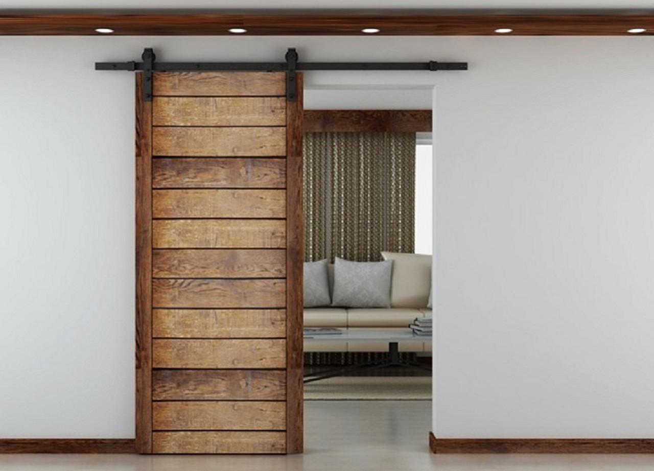 Barolo Barn Door Sliding Door System & Sliding door gear- Rustic Barn Door Style