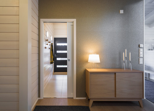 A Pocket Door System For A Corridor. The Eclisse Sliding Pocket Door System  Is An ...