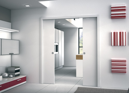 ... An Eclisse Double Pocket Door System Is A Great Way To Make Space  Multi Functional