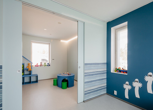 Attirant ... Using An Eclisse Syntesis® Flush Double Pocket Door System You Can  Create An Open Plan ...