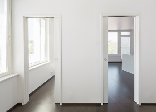 ... Exploit the tightest of space by having two doors disappear into the same pocket. : 2 doors - Pezcame.Com