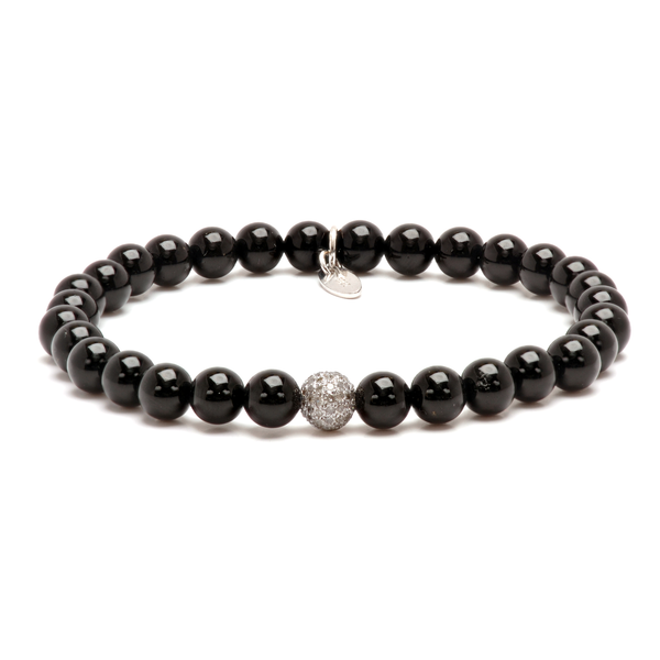 buddha in men for item silver jewelry wholesale bracelet tibetan bracelets beads charm from black accessories woman onyx