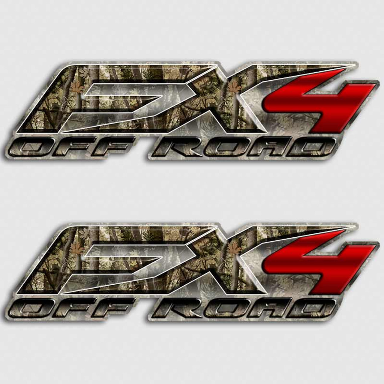 Fx Camouflage Red Truck Decals Ford F Hunting Stickers