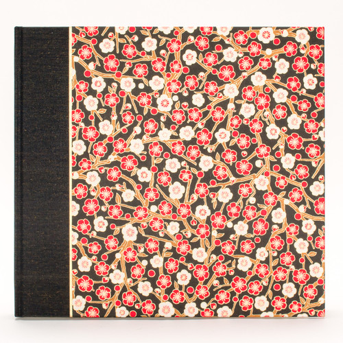 Photo Album in Red and White Plum Blossom