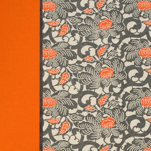 Orange Batik Flower